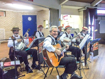 Banjo Band, Princes Risborough and surrounding villages, www.banjovi.co.uk