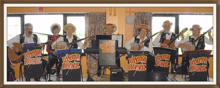 Banjovi Revival, Banjo Band, Musical Entertainment for Clubs and Day Centres, Bucks area