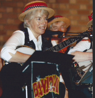 Joyce Wooster, Formed Banjovi Revival in the early nineties, she also plays Violin and Mandolin