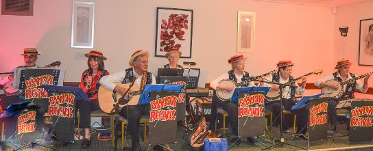 Banjovi Revival at the British Legion in Flackwell Heath