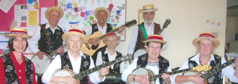 Banjovi Revival, Banjo Band, Musical Entertainment for Local Day Centers and Clubs, in Bucks